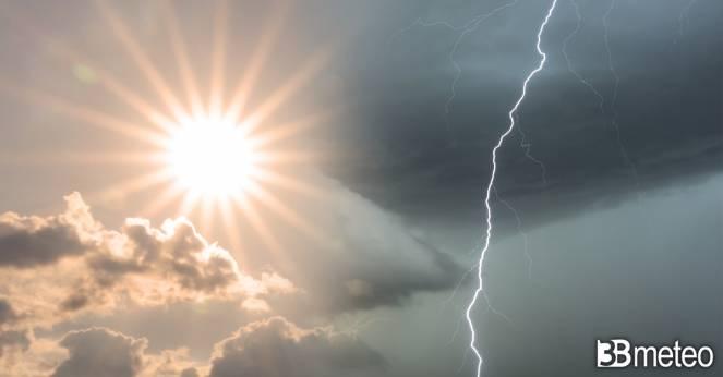 Nuovi temporali in formazione nelle prossime ore