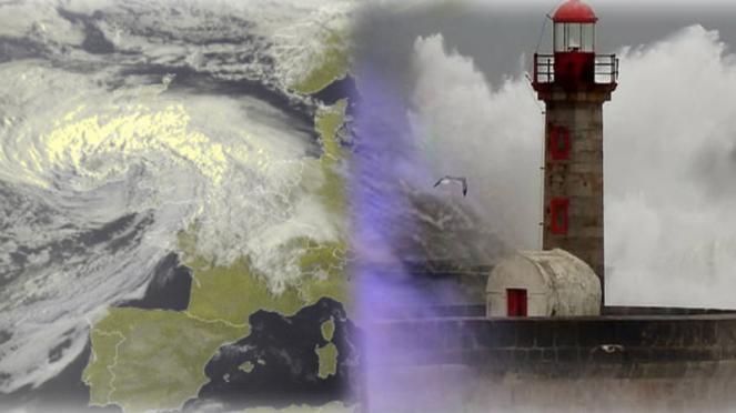 nuovo intenso ciclone extratropicale sulla Gran Bretagna