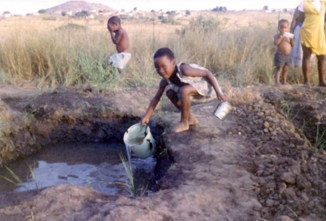Oltre un miliardo di persone non ha accesso all'acqua potabile