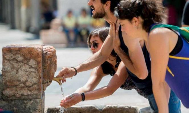 Ondata di caldo intenso su mezza Europa