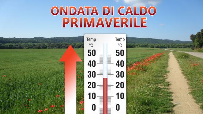 Ondata di caldo primaverile nella Settimana Santa