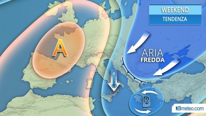 Ondata di gelo in arrivo sull'Europa orientale