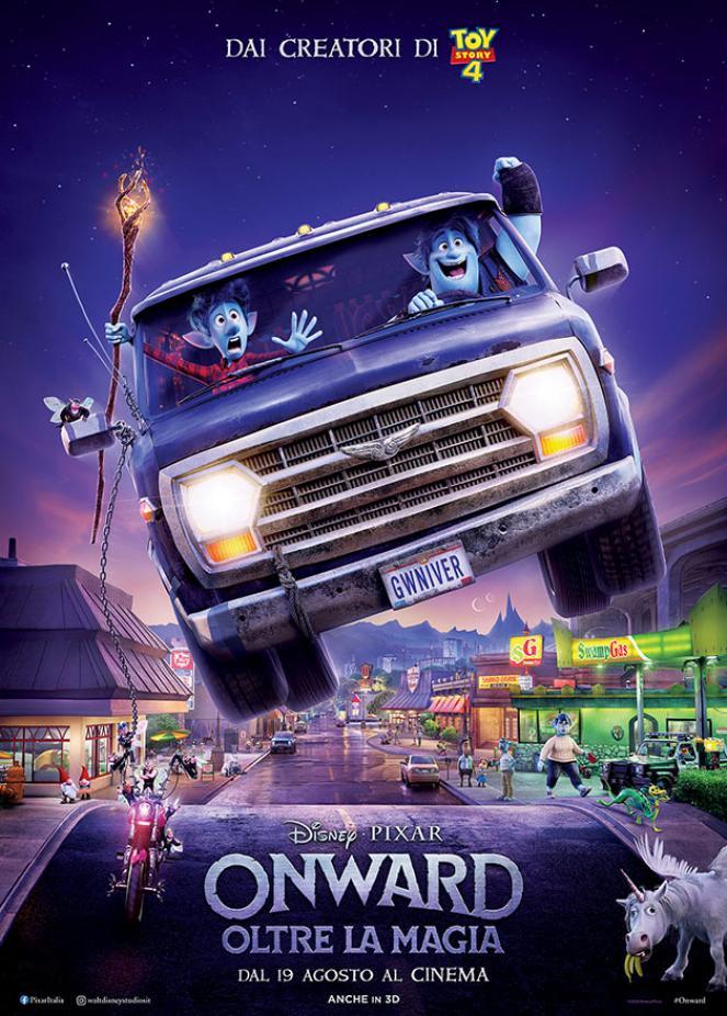 Onward arriva al cinema il 19 agosto