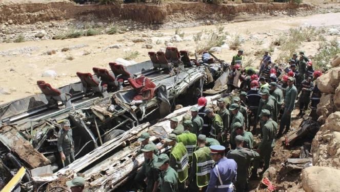 Operazioni di soccorso in Marocco