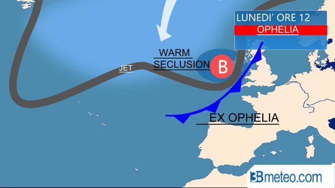 Uragano Ophelia verso l'Irlanda. Incendi in Portogallo e Spagna: 30 morti