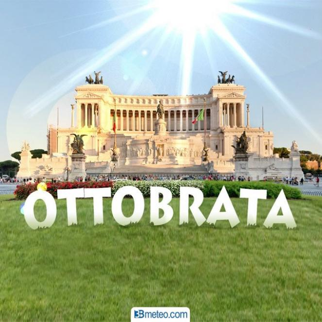 Ottobrata , temperature quasi estive