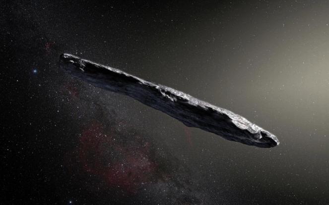 Oumuamua l'asteroide alieno arrivato da molto lontano