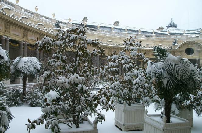 Parigi, attesa neve sul finire della nuova settimana