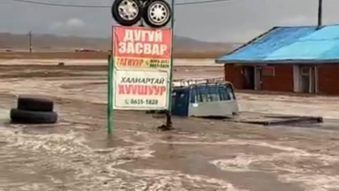 Pesanti inondazioni e vittime in Mongolia
