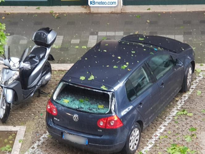 Pescara. Danni per la grandine