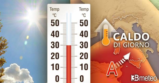 Più sole e temperature in aumento
