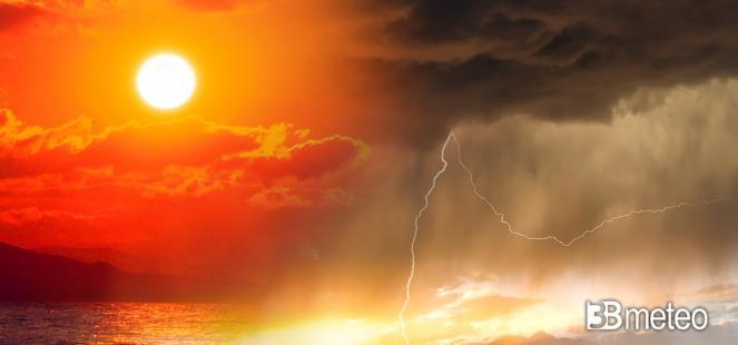 Picco del caldo sull Italia ma sono in arrivo i primi temporali