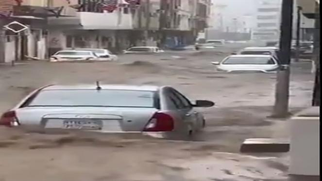 piogge intense a La Mecca