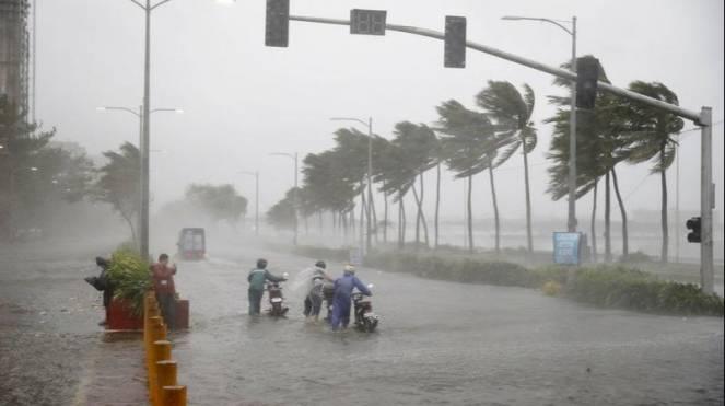 Piogge torrenziali per il ciclone Vayu