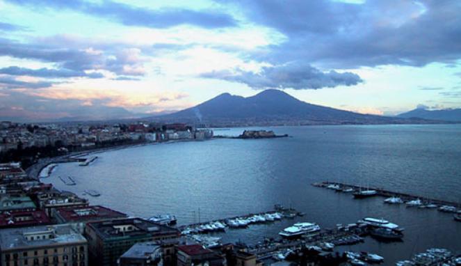 pioggia in arrivo a Napoli