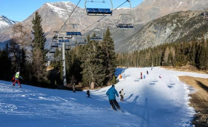 Poca neve sulle nostre Alpi