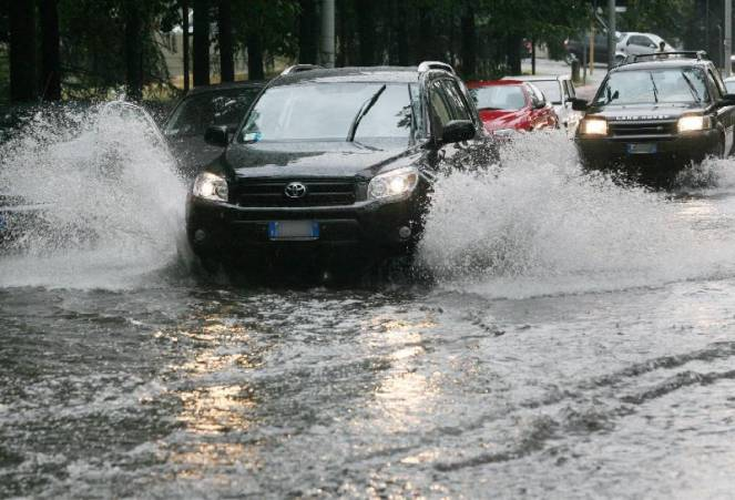 Possibili allagamenti per le forti piogge