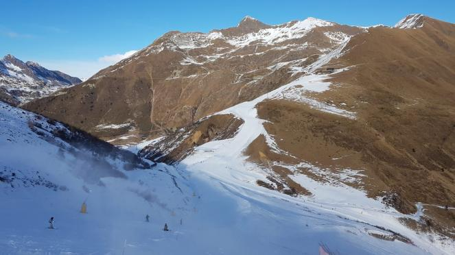 Prealpi Orobie in Lombardia senza neve naturale anche oltre i 2000m