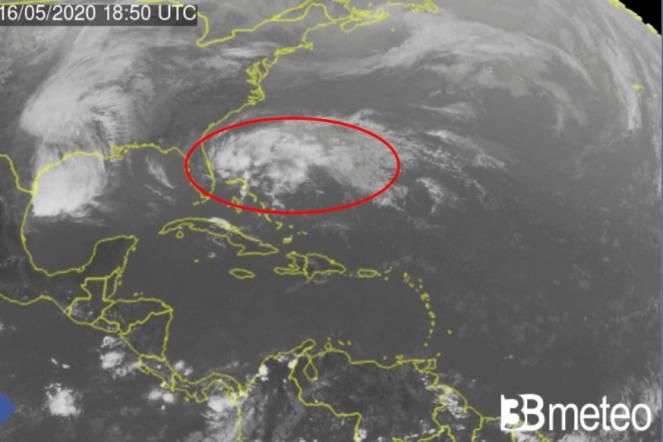 prima depressione tropicale atlantica del 2020