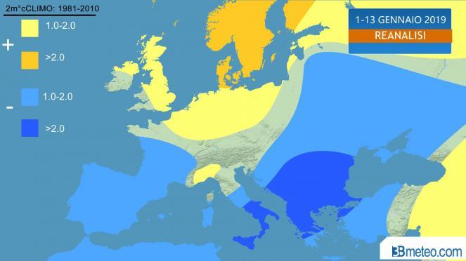 Meteo, ciclone gelido nel Mediterraneo, rischio tempesta. Neve