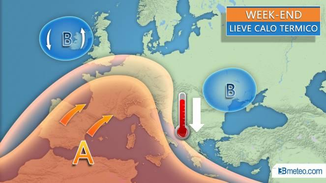 Weekend ancora molto caldo, lunedì arrivano i temporali previsioni