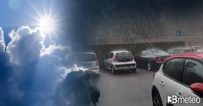 Prossime ore ancora locale instabilità su parte d'Italia