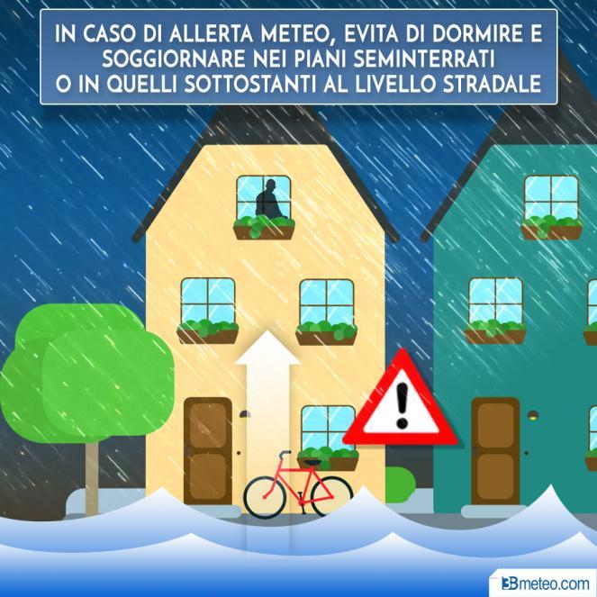 I nubifragi in italia conoscere i rischi e le norme di for Nei piani domestici di terra