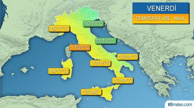 Freddo russo in arrivo nel weekend PREVISIONI METEO