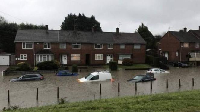 Regno Unito: attese forti piogge nel weekend
