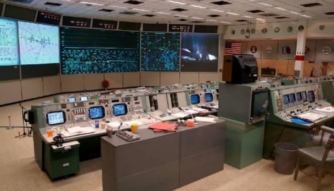 Sala di controllo missione Apollo 11, recentemente ristrutturata
