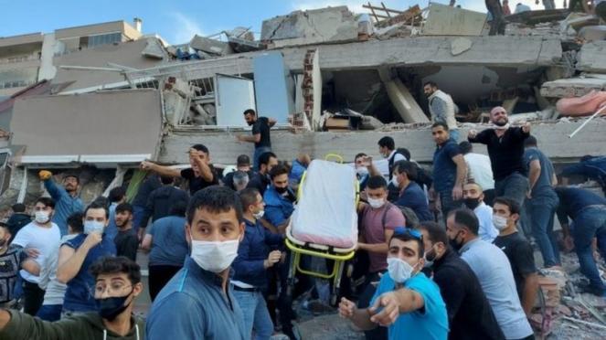 Sale il bilancio delle vittime del terremoto, sarebbero almeno 31
