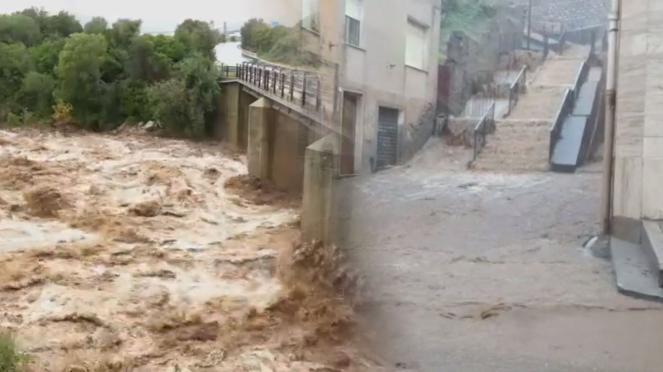 Sardegna flagellata dal maltempo con alluvioni e mareggiate, ci sono vittime
