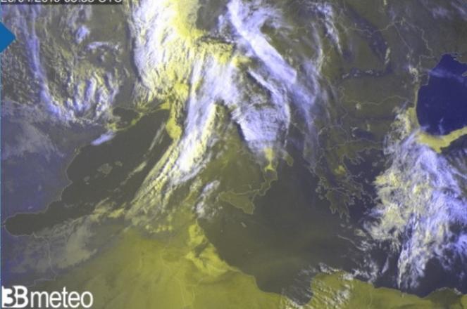 Satellite ore 7,55