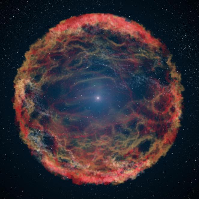 Scoperta nell'Orsa Maggiore a mezzo miliardo di anni luce da noi una stella che non vuole morire