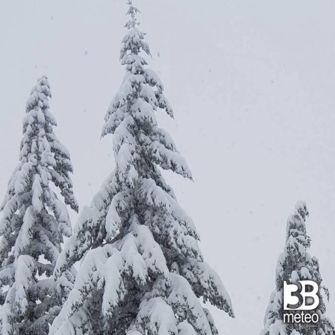 Serramazzoni (MO) sotto la neve