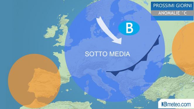METEO dal 12 al 18 Ottobre: bel tempo con anticiclone. Arriva l'ottobrata