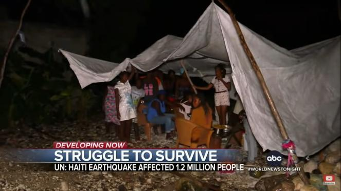 Situación dramática en Haití tras el terremoto y la tormenta