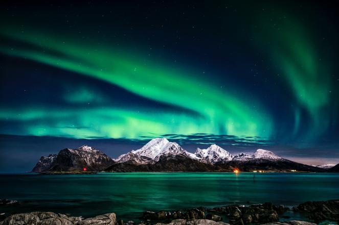 Spettacolare aurora boreale vista fino alla Scozia e la Scandinavia meridionale