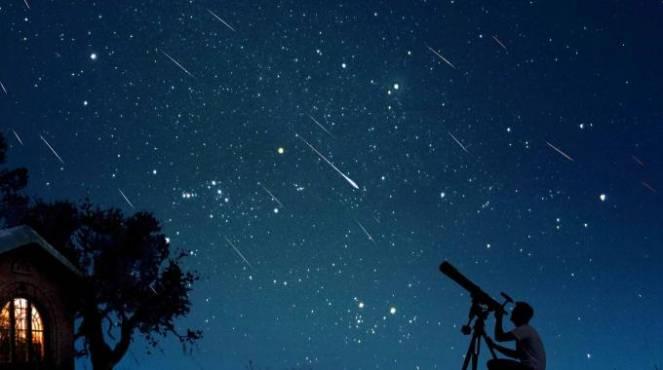 Spettacolo delle stelle cadenti