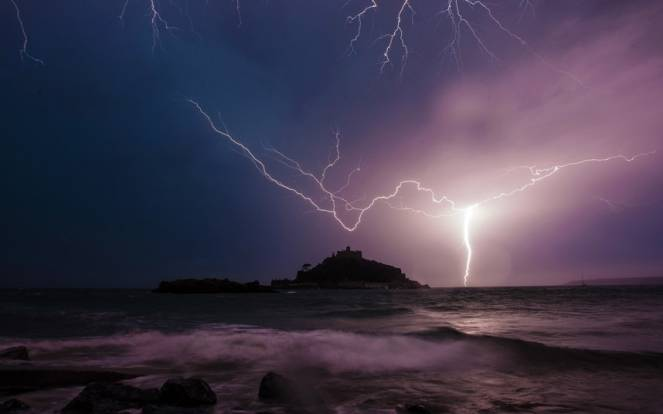 St Michaels Mount, Cornwall autore:LEE SEARLE / CATERS NEWS
