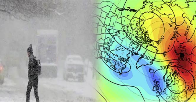 stratwarming e gelo in Europa