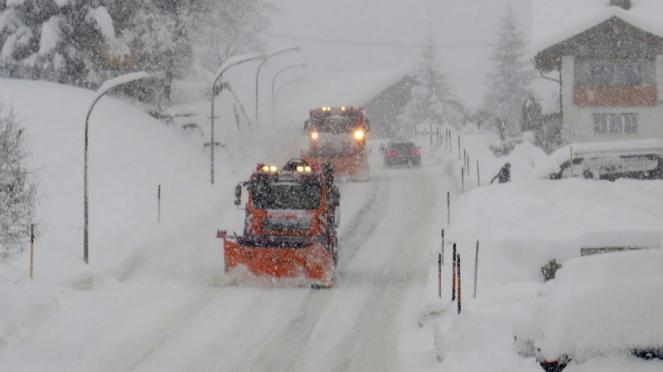 tanta neve in Austria