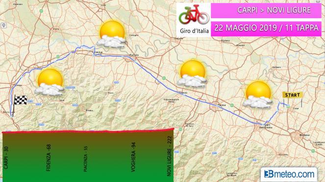Tappa 11 Giro d'Italia 2019