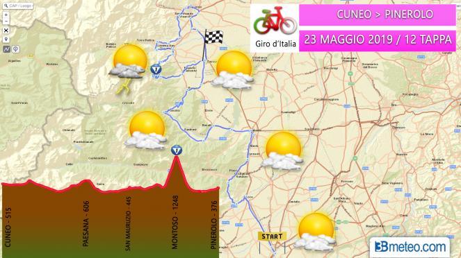 Tappa 12 del Giro d'Italia 2019