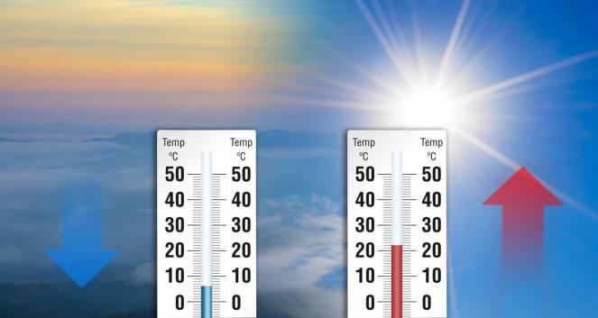 Temperature, forti escursioni tra massime e minime, valli e montagna