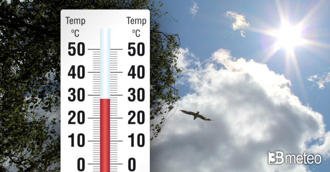 Temperature gradevoli nei prossimi giorni