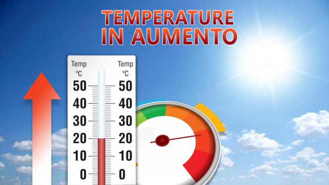Temperature in aumento