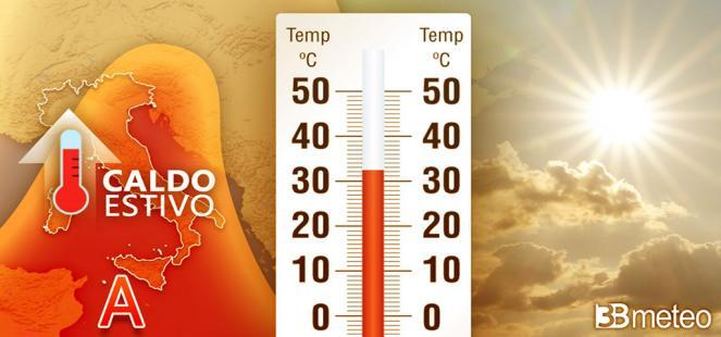 Temperature in aumento, attesi picchi oltre i 30°C