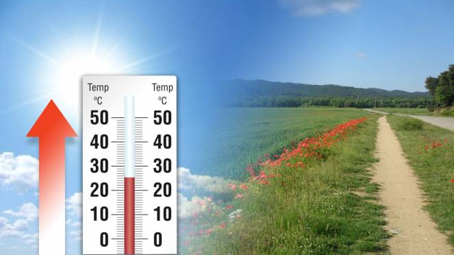 Temperature in aumento nella nuova settimana