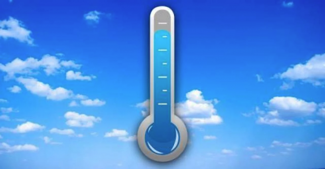 Temperature in calo